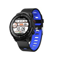 S10 Plus Smart Sport Watch IP67 Waterproof Support Real-time Heart Rate Monitoring Sleep Monitoring Bluetooth Alarm Clock Black Blue