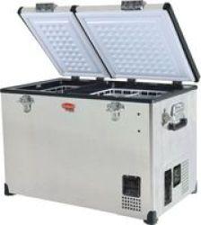 Snomaster SMDZCL72D 72l Dual Compartment Fridge freezer