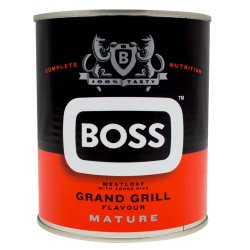 BOSS - Mature Dog Food Meatloaf Can Grand Grill 775G Mixed Grill