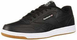 Reebok Men's Club Memt Sneaker Black white 6 M Us