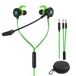Bluefire 3.5MM Wired Gaming Earphone Noise Cancelling Stereo Bass Gaming Headphone E-sport Earphone With Adjustable MIC For PS4