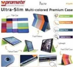 Promate Klyde-ultra-slim Multi-colored Premium Case For Ipad Air-pink Retail Box 1 Year Warranty