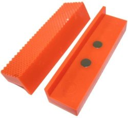 Wci Set Of Rubber Magnetic Vise Jaws. Protection For Your Projects