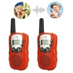 DIMY Toys For 4-5 Year Old Boy Walkie Talkies For Kids Toys For 3-12 Year Old Girls Gifts For Teen Girl Red DJ84