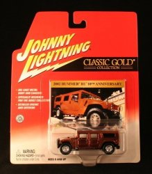 Playing Mantis 2002 Hummer H1 Copper Johnny Lightning 2002 Classic Gold 2 Collection Release 15 1:64 Scale Die Cast Vehicle