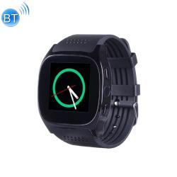 T8M 1.54 Inch Ips Screen Bluetooth Smart Watch Support Heart Rate Monitor Blood Pressure Sleep Monitoring Black