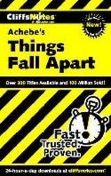 """Things Fall Apart"""""""