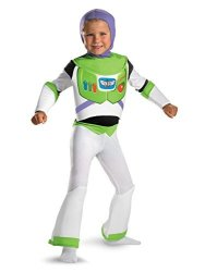Disguise Costumes Deluxe Buzz Lightyear Child Costume - Small