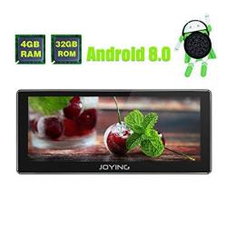 JOYING Car Radio Android 8 0 4GB + 32GB Octa Core 10 25 Inch Single Din  In-dash Head Unit With Zlink And Android Auto Fast Boot | R | Electronics |