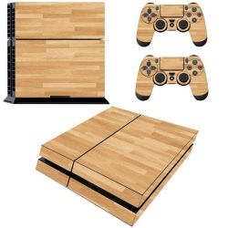Decal Skin For PS4: Wood