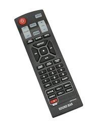 AIDITIYMI Factory New AKB73575421 Remote Control Replace Fit For LG Sound  Bar Soundbar NB3532A NB4530B NB3730A NB3531A NB3530A S | R555 00 | Handheld