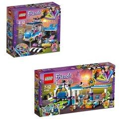 Lego Friends Care Truck Bundle 41348 & 41350