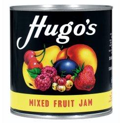 Hugo S Jam Smooth Mixed Fruit 900 G