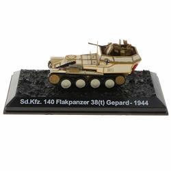 Dynwave Diecast Tank 1:72 SD.KFZ.140 Flakpanzer 38 T GEPARD-1944 Armoured Combat Tank Toy Bookshelf Ornament
