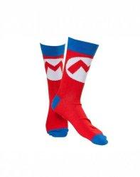 Mario Nintendo - Mark Socks - Adult Socks - UK 5.5 - 7.5