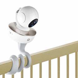 Itodos Baby Monitor Mount For Motorola Baby Monitor Arlo Baby Monitor And Most Universal Monitors Camera Versatile Twist Mount Without Tools Or Wall Damage