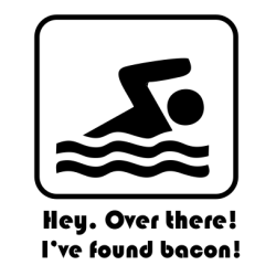 Hey. Over There I've Found Bacon Navy