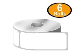 "BETCKEY 6 Rolls 520 ROLL 1"" X 3"" Direct Thermal Zebra eltron Compatible Labels - Premium Resolution & Adhesive"