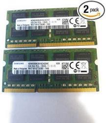 Samsung 16GB 2 X 8GB 204-PIN Sodimm DDR3 PC3L-12800 1600MHZ RAM Memory Module For Laptops M471B1G73EB0-YK0 X 2