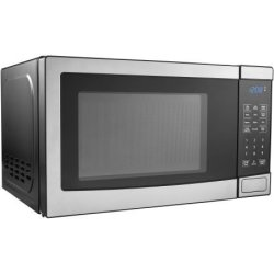 Mainstays 0.7 Cu Ft Microwave Oven Stainless Steel