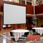 Draper 241251 Ultimate Folding Screen 83 X 144 Matt White XT1000V