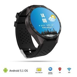 Smartlife 3G Wifi Smartwatch Phone Bluetooth Smart Watch Android 5.1 Sim Card With Gps 2M Camera Hea