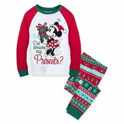 Disney Minnie Mouse Holiday Pj Pals For Girls Size 3 Multi