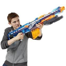 Nerf N-strike Elite Retaliator Sonic Ice Dart Gun Working Vgc