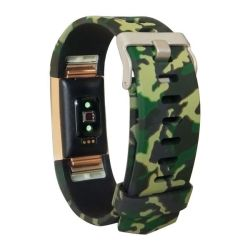Pattern Band For Fitbit Charge 2 - Army