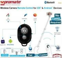Promate Zap Wireless Camera Remote Control For iOS & Android Devices