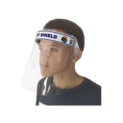 Clear Safety Face Shield With Foam Strip