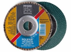PFERD Polifan Wheels Pff 115-22 Z60 Psf -zircon