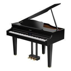 Roland GP7 V-piano Concert Grand - Polished Ebony