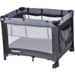 Chelino - Lilo Camp Cot - Black