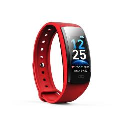 QS90 Plus 0.96 Inches Tft Color Screen Smart Bracelet IP67 Waterproof Support Call Reminder heart Rate Monitoring sleep Monitoring sedentary Reminder Red