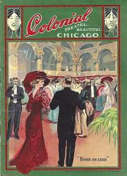 "Julian Eltinge ""fascinating Widow"" Female Impersonator 1911 Chicago Tryout Program"