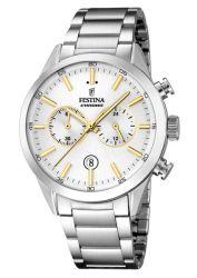 Festina Timeless Chronograph Analogue Men's Wrist Watch F16826 D