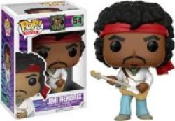 Funko Pop Rocks: Jimi Hendrix Woodstock Vinyl Figurine