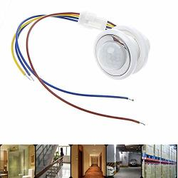 Mylujo LED Adjustable Sensor Switch Pir Infrared Motion Activated Control 85-265V