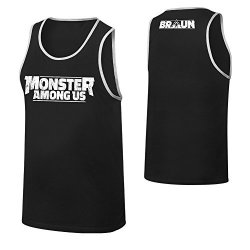 Wwe Braun Strowman Monster Among Us Tank Top Black Medium