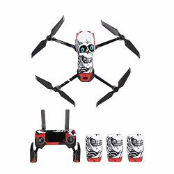 Nesee Pvc Drone Stickers Mavic 2 Drone Sticker Set Decals For Dji Mavic 2 Zoom pro 10 Styles H