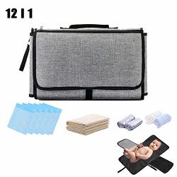 Newborn Baby Shower Gift Set For Boy Girl Portable Waterproof Diaper Changing Mat Station-foldable Diaper Clutch Bag Kit For Travel Outdoor Shopping