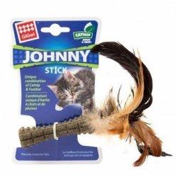 Gigwi - Cat Toy Catnip Johnny Stick With Feather