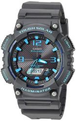 Casio Men's 'tough Solar' Quartz Stainless Steel And Resin Watch Color:black Model: AQ-S810W-1A3VCF