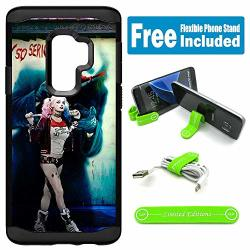 Limited Editions For Galaxy S9+ Plus Hybrid Rugged Hard Cover Case - Harley Quinn Real Whysoserious