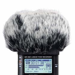 DR40 Furry Windscreen Fits Tascam DR-40 DR40 MIC Recorders DR40 Outdoor MIC Dead Cat Fur Windshield By Sunmon