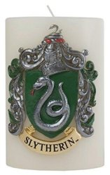 Harry Potter Slytherin Sculpted Insignia Candle - Insight Editions Other Printed Item