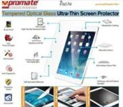 Promate Primeshield.air Premium Ultra-thin Tempered Optical Glass Screen Protector For Ipad Air Retail Box 1 Year Warranty