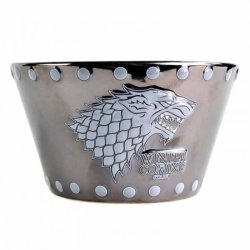 GAME OF THRONES - Stark Stud Relief Bowl