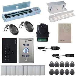 Visionis FPC-5339 One Door Access Control Inswinging Door 600LBS Maglock With VIS-3002 Indoor Use Only Keypad reader Standalone No Software Em Card Compatible 500 Users